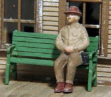 S SCALE/Sn3/Sn2 WISEMAN DETAIL PARTS: S331 STATION BENCHES KIT
