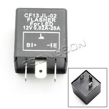 3 Pin CF13 JL-02 Electronic Car Flasher Relay to fix LED light Hyper Flash Blink