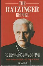 CATHOLIC BOOK   THE RATZINGER REPORT  BY JOSEPH CARDINAL RATZINGER