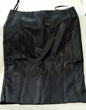 BNWT Almost Famous Artificial Leather / Leather Look Knee Length Skirt -10