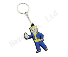 Fashion Fallout Shelter 4 Vault Boy Rubber Key Ring Key Buckle
