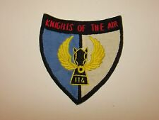 b9144 US Army Vietnam 114th Aviation Helicopter Co Knights Of The Air  IR37F