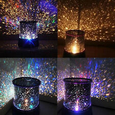 Romantic LED Starry Night Sky Projector Lamp Star light Cosmos Master Kids Gifts