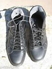 NEW Dr. Martens Doc ANKLE BOOTS SHOES MENS 10 Harrisland Leather Lace Up Black