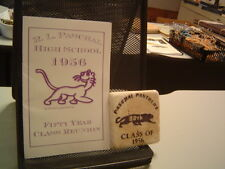 1956 PASCHAL HIGH SCHOOL 50th Year Class Reunion Paperweight FORT WORTH TEXAS