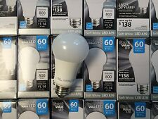 10 Pack LED 60W = 10W Soft White 60 Watt Dimmable A19 2700K SweetHome best
