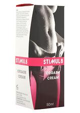 STIMUL8 ORGASM CREAM FEMALE CLIMAX Enhancer Arousal Sex Aid Women