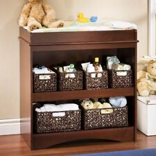 South Shore Peek-a-Boo Changing Table, a-Boo Changing Table-Cherry