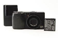 RICOH GR DIGITAL 8.1 MP Digital Camera Black from Tokyo Japan [Excellent!]