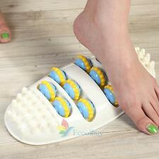 Mini Foot Care Roller Massage Reflexology Relax Relief Portable Feet Massager #A