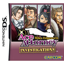 Ace Attorney Investigations: Miles Edgeworth [T] NDS