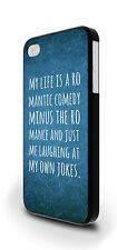 My Life Is A Romantic Comedy Cover Case for iPhone 4/4s 5/5s 5c 6 6 Plus