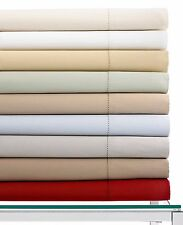 Hotel Collection 600 Thread Count Egyptian Cotton QUEEN Fitted Sheet WHITE Z361