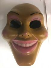 UK DELUXE THE PURGE FIBREGLASS FANCY DRESS UP MASK anarchy ELECTION YEAR COSTUME