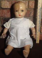Old Antique Horsman Composition Baby Doll - Needs TLC - For Restoration
