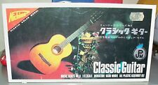Classic Guitar (Classical) ___Unique Nichimo 1/8 scale__Japanese model kit