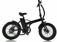 "500Watts 48v 20"" Fat Tire Samsung Battery  Folding Electric Bicycle E-Bike"