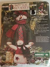 MS CHILLY & WILLY 18099 Bottle Buddies Felt Craft Kit by Dimensions NEW 1996