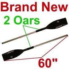 2 Aluminum Oars/Paddles,Boat/Raft/Canoe 60 Inch/5 Foot Oar/Paddle,New