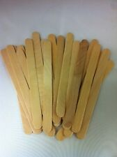 Lot of 50 pcs Wood Craft Popsicle Sticks 4 1/2 x 3/8″ - Great for Craft Projects