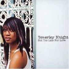 BEVERLEY KNIGHT Not too late LIVE &UNRELEASE& VIDEO CD