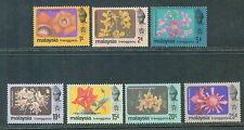 Trengganu flowers definitive 7v 1979 mnh # M 24