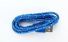 1M Colorful Braided Sync Data Cable USB Charger for iPhone 6 6S Plus 5 5S 5c
