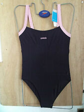 "SPEEDO WOMENS SCULPTURE PREMIERE SWIMSUIT UK SIZE 32""  CHEST(82cm)"