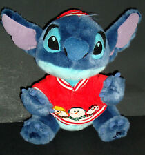 Disney Store Stitch Snowman Plush 12in Holiday Christmas Snowball Lilo Exclusive