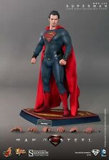 "HOT TOYS MMS200 SUPERMAN MAN OF STEEL 12"" 1/6 SCALE FIGURE HENRY CAVILL NEW"