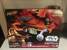 Nerf Star Wars Chewbacca Bowcaster - The Force Awakens - Dart Blaster Gun