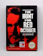 THE HUNT  FOR RED OCTOBER la caza del octubre rojo NINTENDO NES  PAL