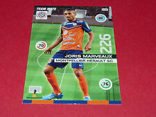 J. MARVEAUX MONTPELLIER MHSC MOSSON FOOTBALL ADRENALYN CARD PANINI 2015-2016
