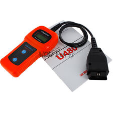 U480 CAN OBDII OBD2 Car Diagnostic Scanner Tool Memo Engine Fault Code Reader