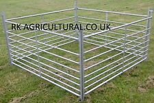 SHEEP HURDLES 6ft x 30 new galvanised steel