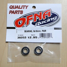 OFNA 8x16mm Sealed Bearing for R/C Cars, Part 36053