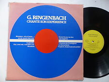 G. RINGENBACH Chante son experience PS 377 111