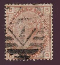 GB QV 1881 1/- ORANGE Plate 13...GOOD USED...CV £140