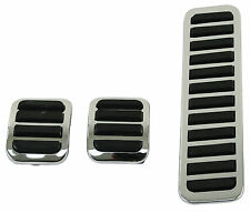 VW BUG BUS GHIA BUGGY TYPE 3 CHROME PEDAL COVERS  EMPI 4551