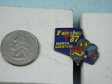 HOT AIR BALLOON PIN 1987 FAIR SHOW NORTH LAS VEGAS