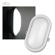 LED lampada-camera umida Ovale bianco 10W 700lm Lampada-cantina Luce cantina
