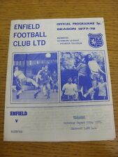 13/08/1977 Enfield v Dartford [Friendly] (4 Pages, team Changes). Thanks for vie