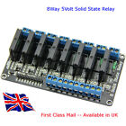 8 Channel 5V Solid-State Relay SSR - Suit - ARDUINO- RASPBERRY Pi 2 Amp - In UK