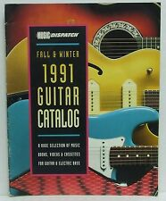 Music Dispatch Magazine 1991 Guitar Catalog Fall and Winter Issue Electirc Bass!