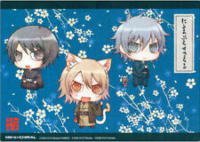 Nitro+Chiral Chibi Group Mouse Pad Foam Mousepad NEW