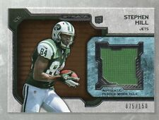 2012 STRATA STEPHEN HILL JERSEY #ED75/150 ROOKIE