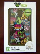 NIP Disney Tech Parks Clip Case Screen Guard Samsung Infuse 4G Android Mickey