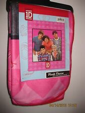 1D One Direction Plush Blanket Fleece Throw Niall Liam Louis Harry Zayn