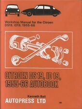 Citroen DS19 & ID19 (1955 - 1966) owners workshop manual