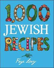 1,000 Recipes Ser.: 1,000 Jewish Recipes 43 by Faye Levy (2000, Hardcover)